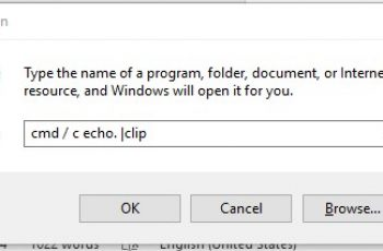 How to Clear the Clipboard in Windows 10