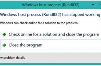 Windows Host Process rundll32 High Disk Windows 10
