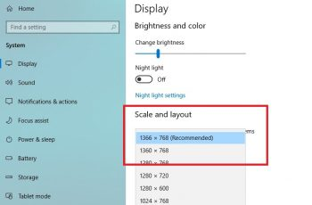 Cant Change Resolution Windows 10
