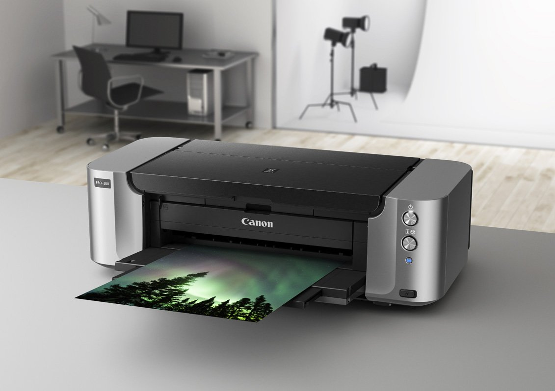 best printer for cardstock Canon Pixma PRO-100